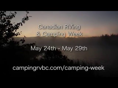 Camping and RVing in BC