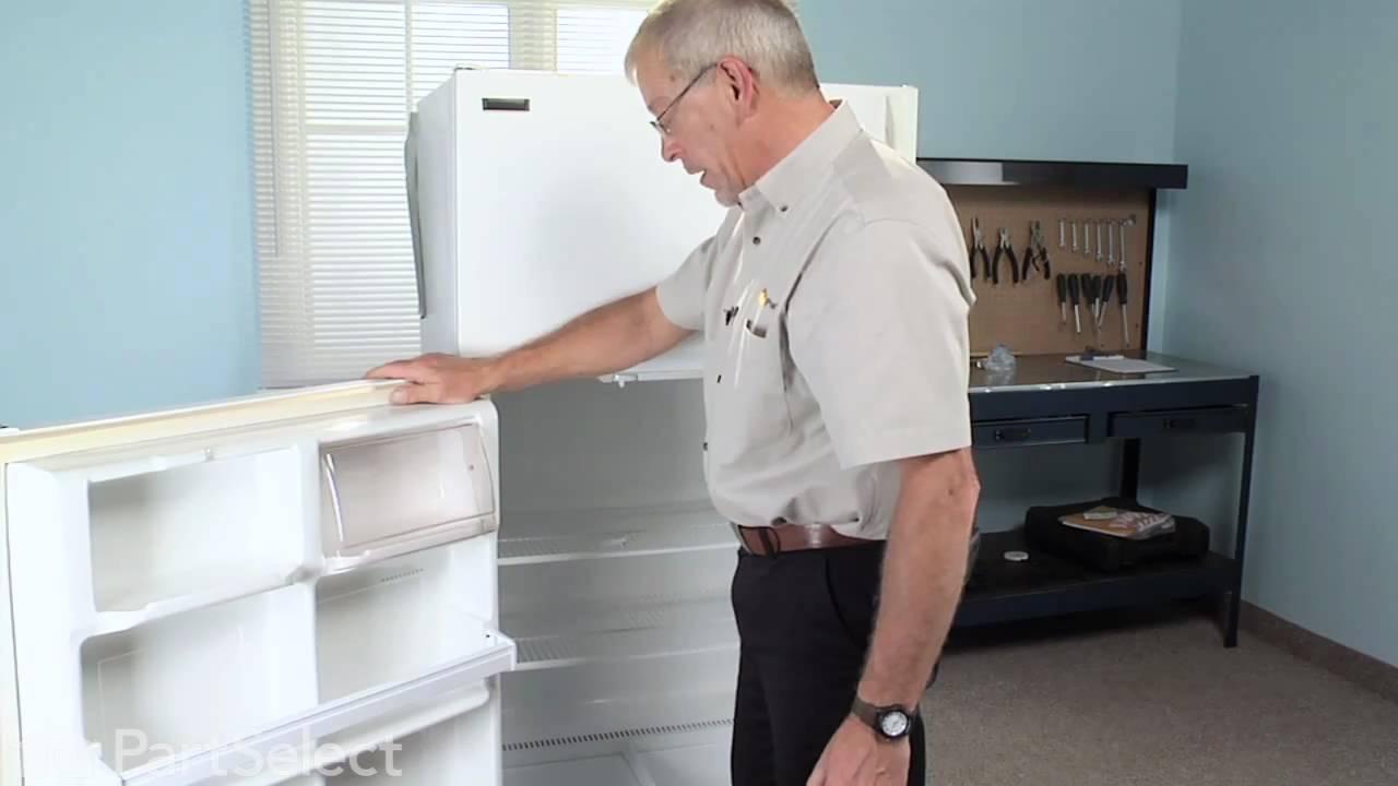 Replacing your Frigidaire Refrigerator Door Shelf End Cap - Left or Right Side