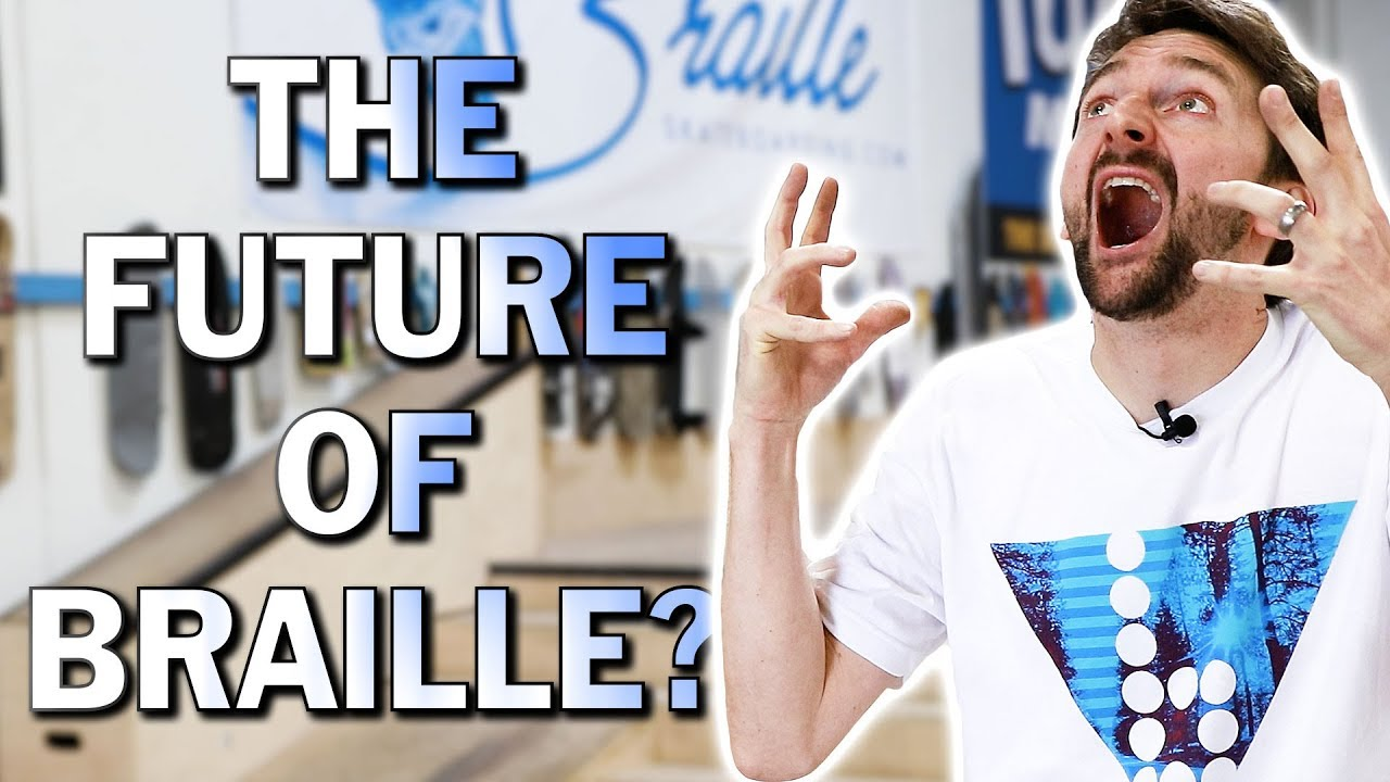 BRAILLES BIG ANNOUNCEMENT - Braille Skateboarding
