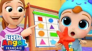 Apprendre les formes Dans ma maison Comptines pour bébé Li...