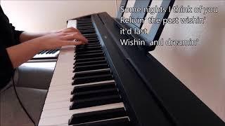 Birds - Imagine Dragons (piano cover + lyrics)