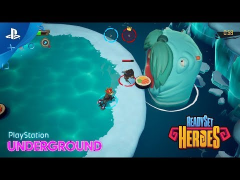 ReadySet Heroes – Multiplayer Gameplay | PlayStation Underground thumbnail