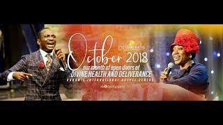 HEALING & DELIVERANCE SERVICE. 23-10-2018