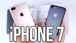Apple iPhone 7 et 7 Plus : Déballage et prise en main (Unboxing)