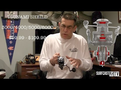 Tip of the Week #12- First Look at Tsunami Shield Spinning reel
