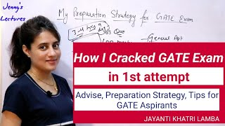 How I cracked GATE exam | Preparation strategy for GATE exam