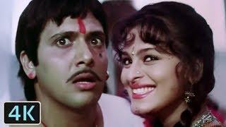 'Angna Mein Baba' Full 4K Video Song - Govinda, Shilpa Shirodkar | Kumar Sanu | Aankhen