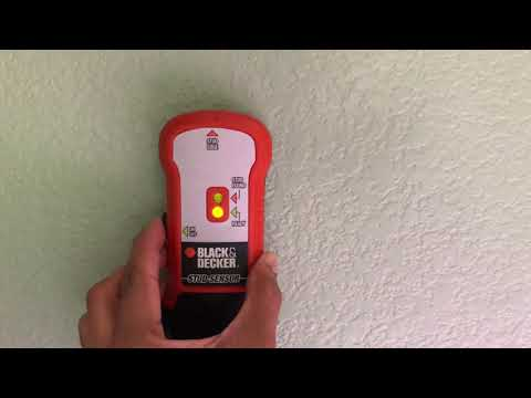How to Use stud Finder Black & Decker Brand