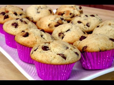 How to Make Homemade Chocolate Chip Muffins recipe – Laura Vitale – Laura in the Kitchen Ep 90