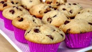 easy choc chip banana muffin recipe