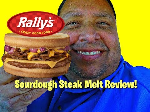 Checkers & Rally's® New Sourdough Steak Melt REVIEW!
