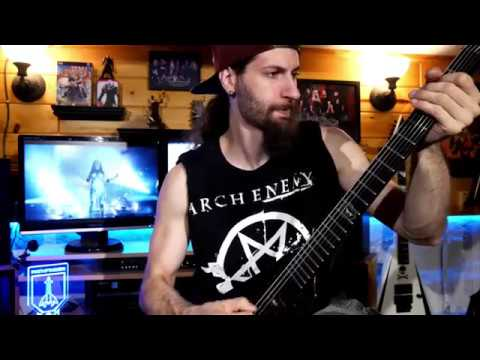 "Dan Capeau - Arch Enemy - ""The World is Yours"" - Guitar Cover"