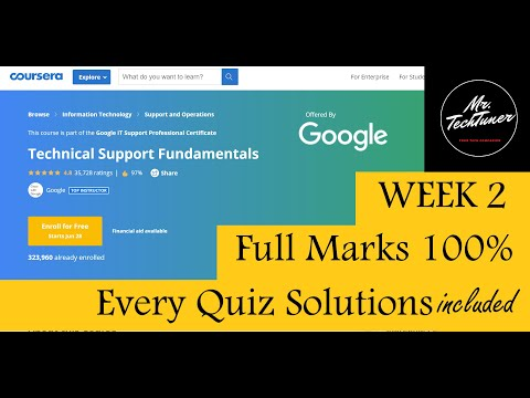 Google IT Support Professional Certificate Coursera | Week 2 | Quiz ...