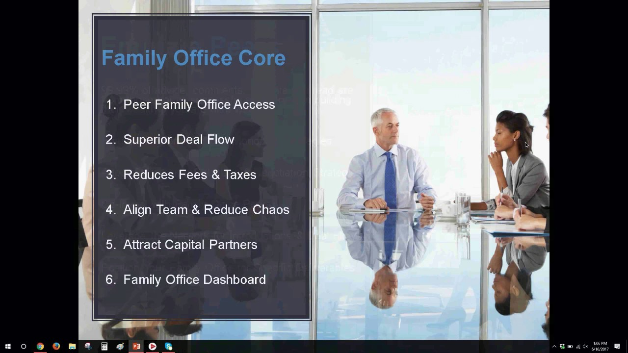 Why You Need a Family Office Podcast