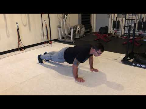 Eccentric Only Push Up