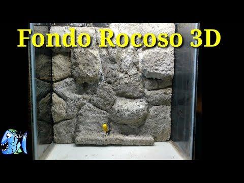 Fondo Rocoso 3D para tu Acuario DIY