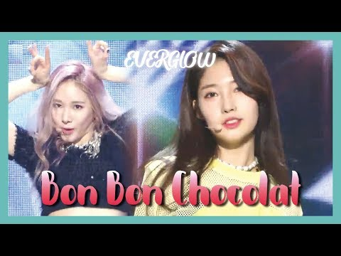 [HOT] EVERGLOW - Bon Bon Chocolat ,  에버글로우 - 봉봉쇼콜라 Show Music Core 20190330