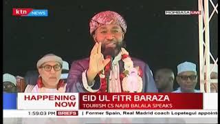 Governor Joho's speech during Eid ul-Fitr Baraza in Mombasa
