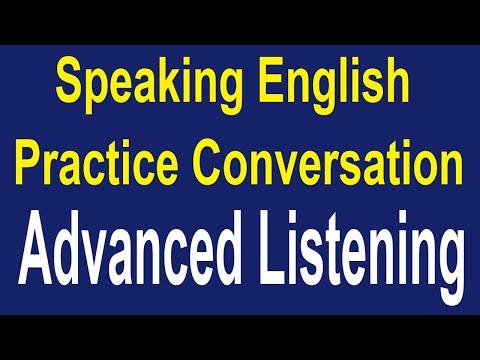 Speaking English Practice Conversation   Advanced Listening English Conversation ✔