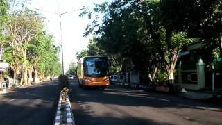 Bus Telolet Terbaik Di Nganjuk Jatim
