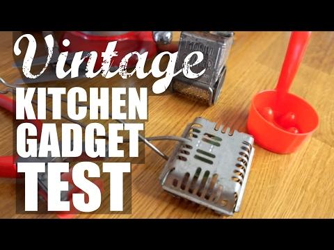 VINTAGE KITCHEN GADGET Test   part 2   Do They Work?