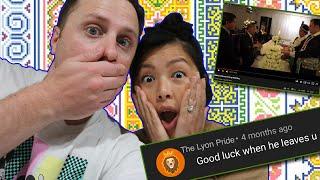 Reaktion auf unsere Hmong Hochzeitskommentare