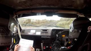 Midlands Rally 2015 Stage 3 - Crash!