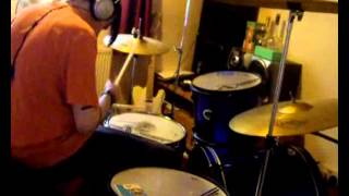 Feeder - Child in you drum cover