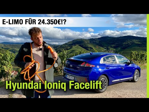 2021 Hyundai Ioniq Elektro Facelift (38,3 kWh) 💙 E-Limo für 24.350€? 😯 Fahrbericht | Review | Test