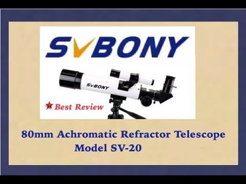 SVBONY SV20 Telescope – Best Review