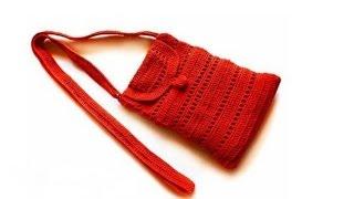 Сумочка через плечо Крючком Crochet bag.Подарки своими руками Поделки Идеи рукоделия