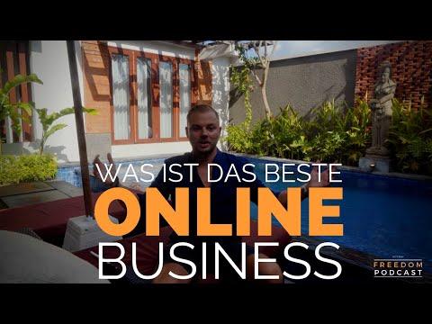 Was ist das beste online Business für Anfänger?