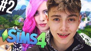 JAK MNIE WIDZĄ YOUTUBERZY? - The Sims 4 #2 | Banshee, ekipa Terefere