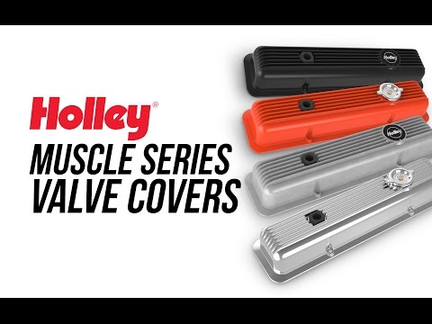 Holley Muscle Series Valve Covers