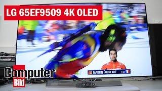 OLED-TV für 5.000 Euro: LG 65EF9509 mit 4K im Test