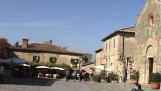 preview picture of video 'MONTERIGGIONI'
