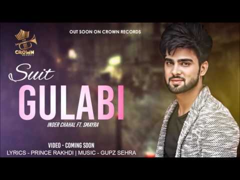 Suit Gulabi  Inder Chahal