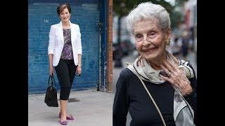 Looks de Bom Gosto para Mulheres acima dos 50, 60, 70 anos