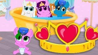 ЧТО это за ПОНИ? Карманная пони. Мультик игра для детей. My little pony. дружба это чудо