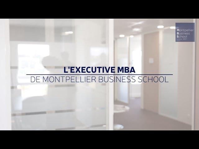 Présentation du programme Executive MBA de MBS