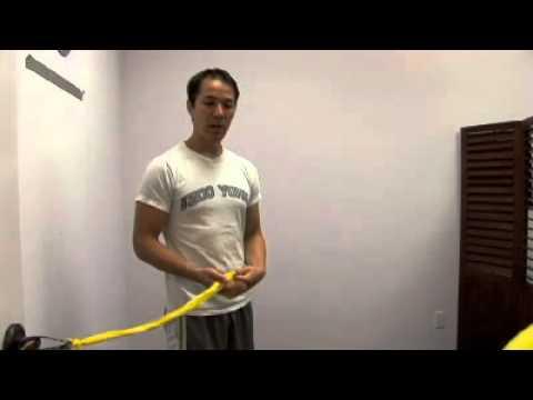 Shoulder Internal/External Exercises