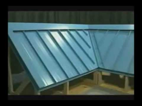 How to install a metal roofing system