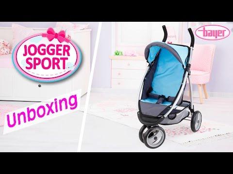 Jogger Sport - Dolls Pram - Puppenwagen - Unboxing - Bayer Design