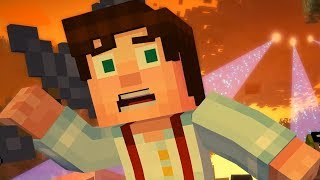 A Man Who Hates Bad Writing Plays Minecraft Story Mode: Episode 4