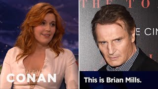 Maggie Grace: Liam Neeson Prank Called My Ex Boyfriend    CONAN On TBS