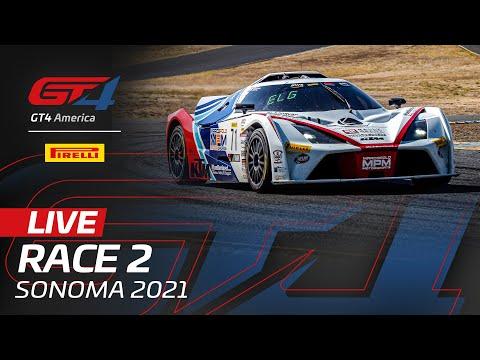 ブランパンGTワールドチャレンジ・アメリカ(ソノマ)GT4X レース2 無料ライブ配信動画