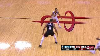 Nba Playoff  2018  Golden State Warriors Vs Houston Rockets  May 28 game 7  Q3.2