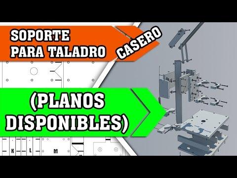 Soporte para taladro casero planos para construir 45 - Soportes para taladro ...