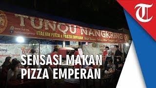 Tunqu Pizza: Sensasi Makan Pizza di Emperan Yogyakarta