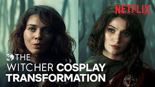 The Witcher: Renfri Cosplay Transformation   Netflix